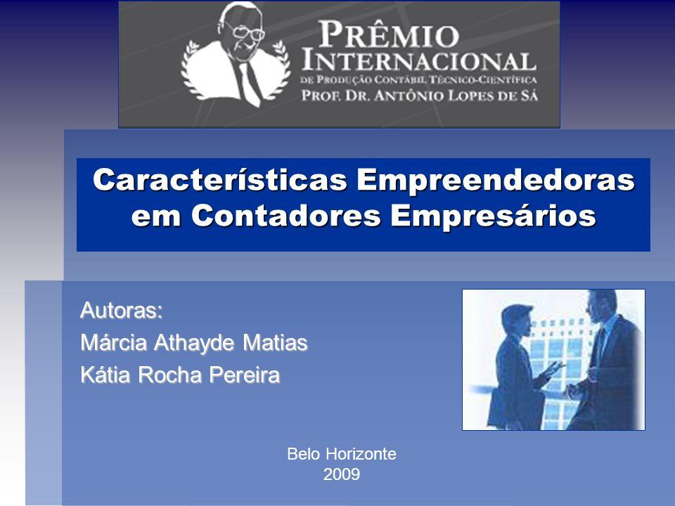 Características Empreendedoras em Contadores Empresários