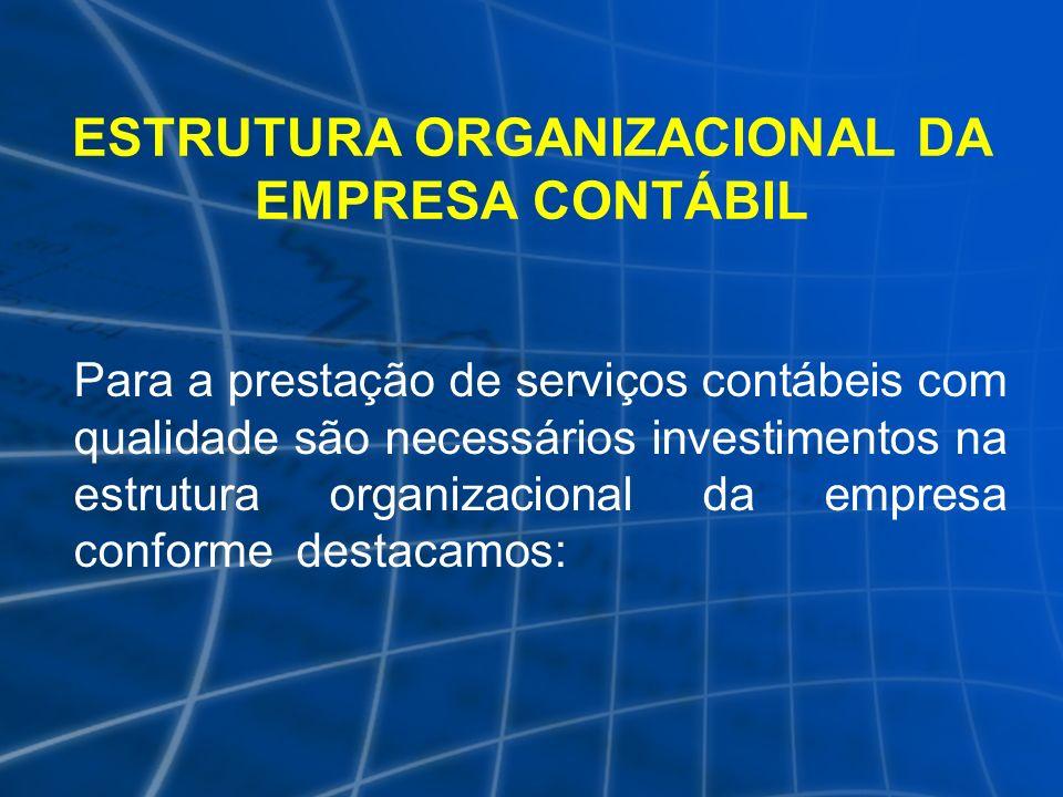 ESTRUTURA ORGANIZACIONAL DA EMPRESA CONTÁBIL