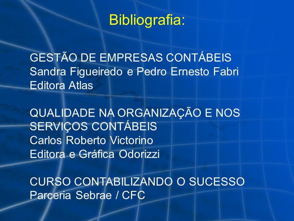 Bibliografia: GESTÃO DE EMPRESAS CONTÁBEIS