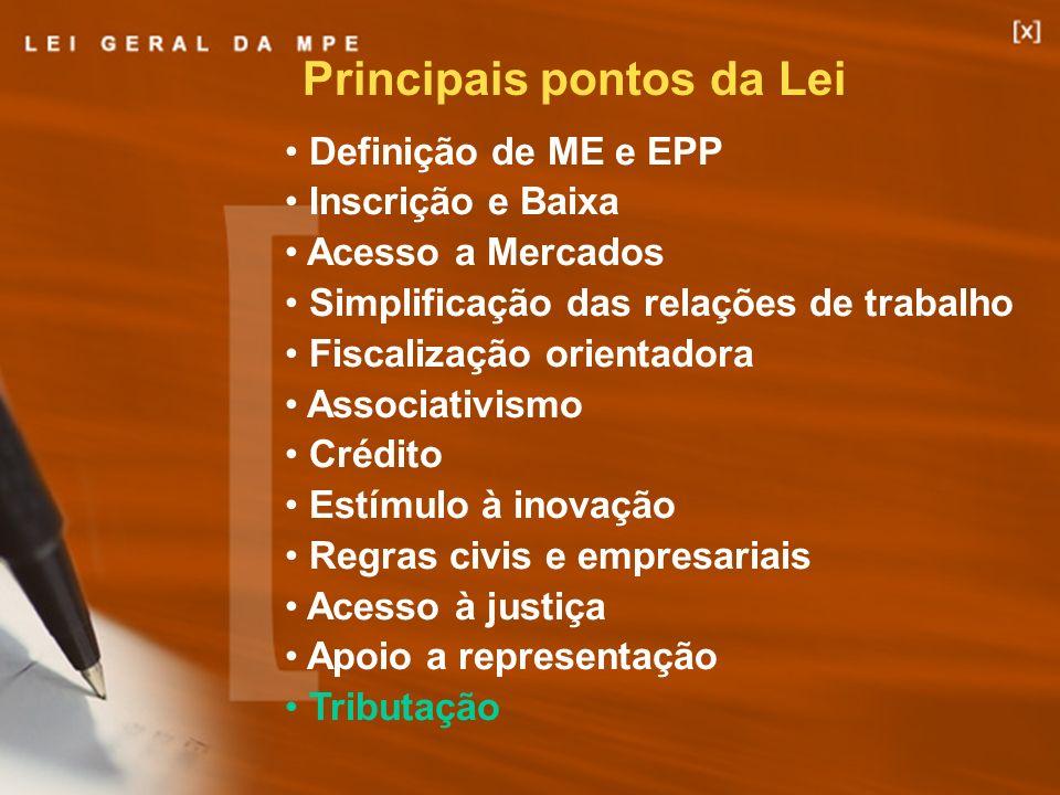 Principais pontos da Lei
