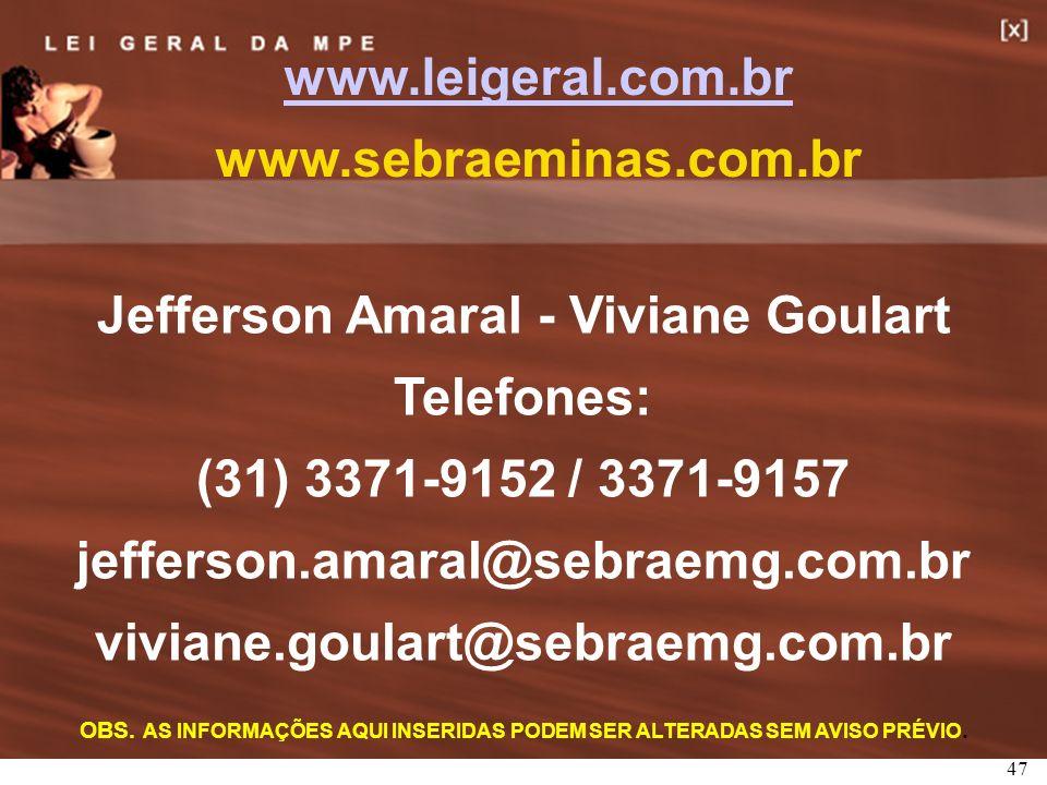 Jefferson Amaral - Viviane Goulart