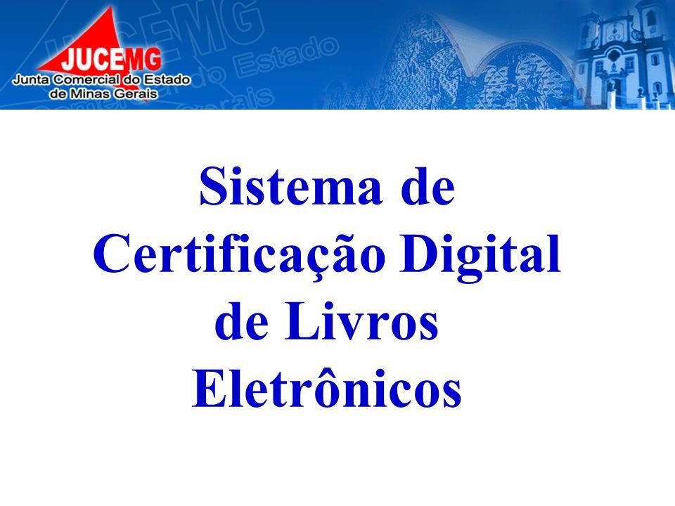 Sistema de Certificação Digital de Livros Eletrônicos