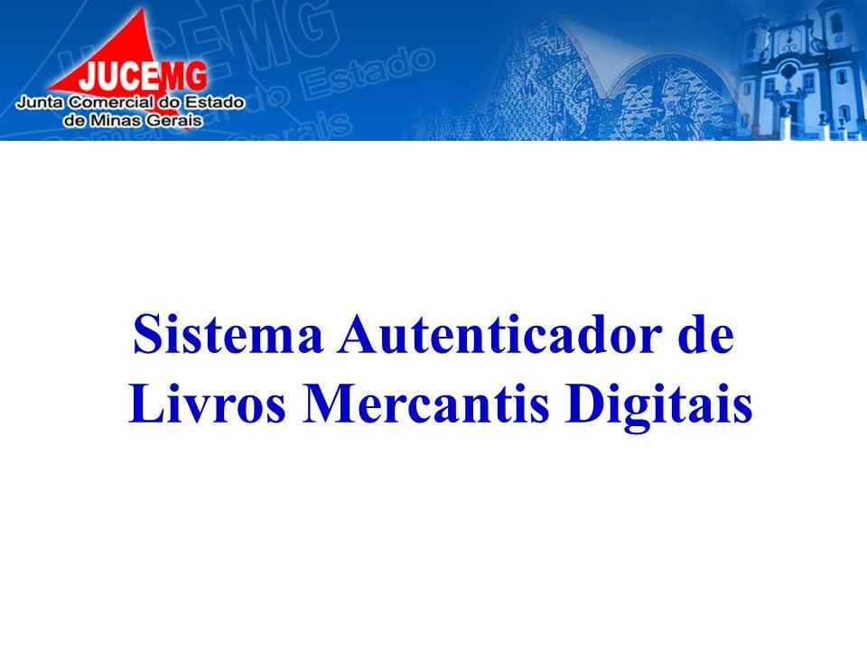 Sistema Autenticador de Livros Mercantis Digitais
