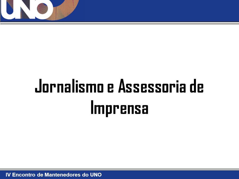 Jornalismo e Assessoria de Imprensa