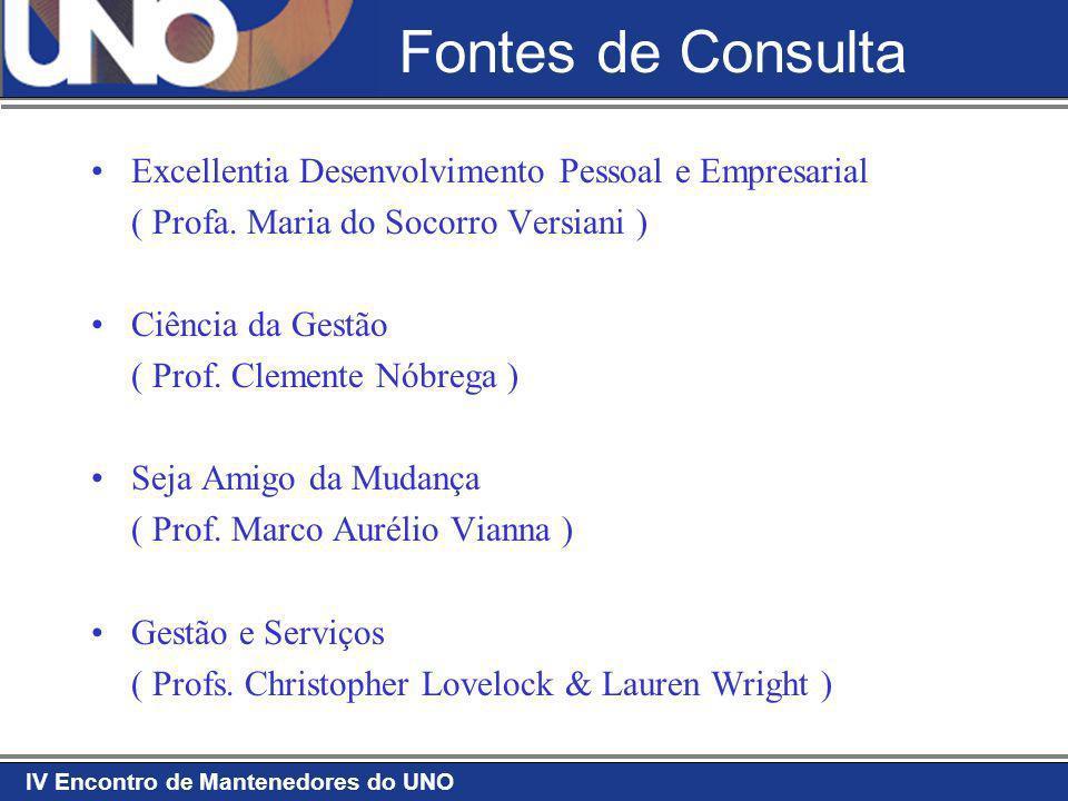 Fontes de Consulta Excellentia Desenvolvimento Pessoal e Empresarial