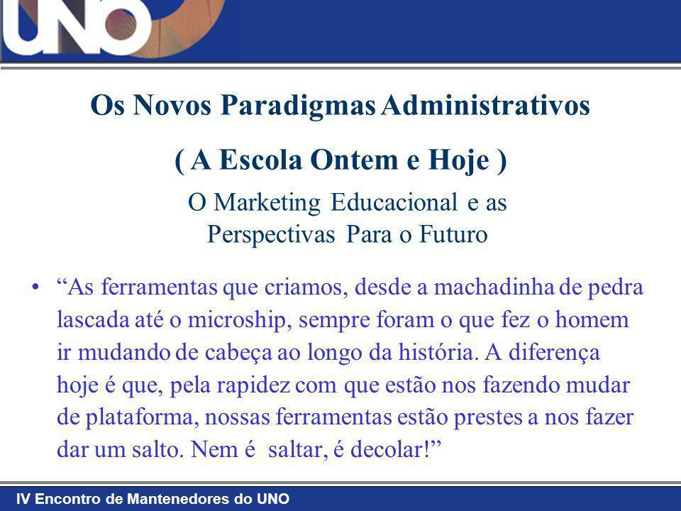 Os Novos Paradigmas Administrativos