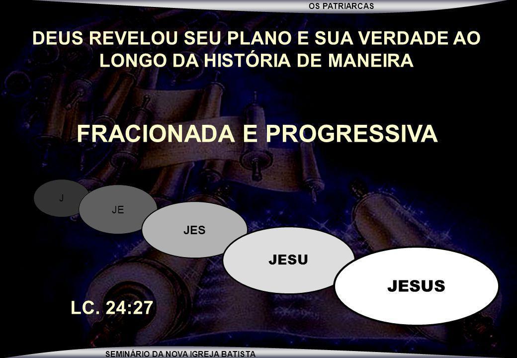 FRACIONADA E PROGRESSIVA
