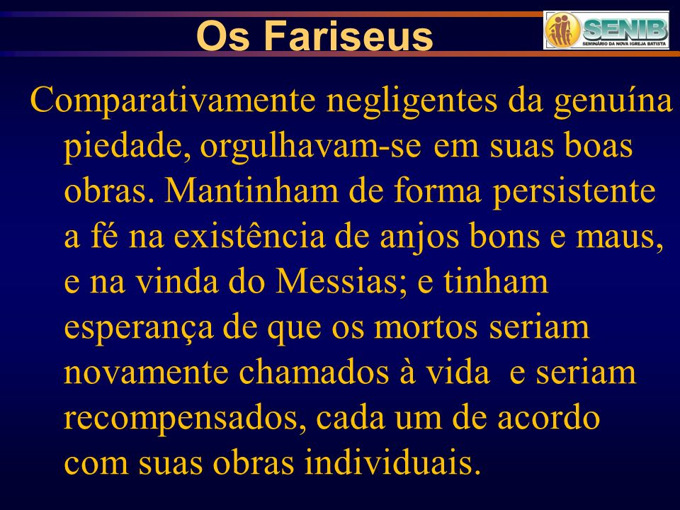 Os Fariseus