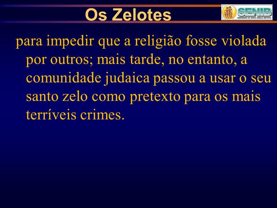 Os Zelotes