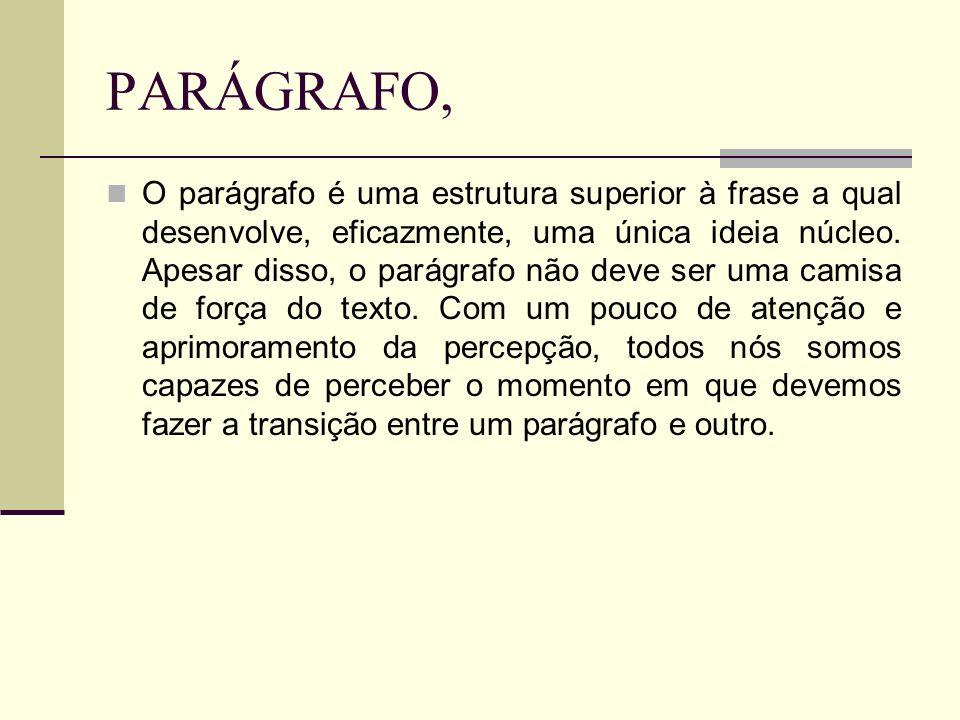 PARÁGRAFO,