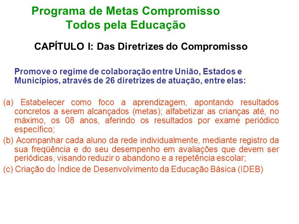 Programa de Metas Compromisso Todos pela Educação