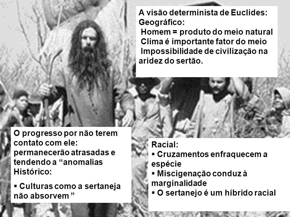 A visão determinista de Euclides: