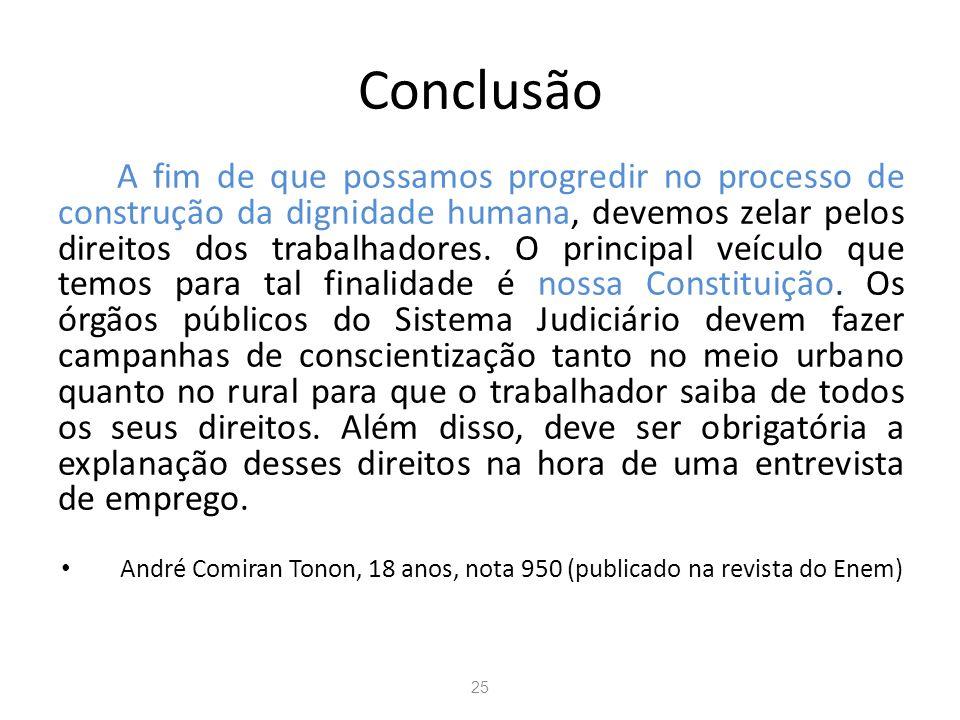 André Comiran Tonon, 18 anos, nota 950 (publicado na revista do Enem)