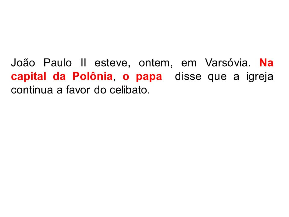 João Paulo II esteve, ontem, em Varsóvia