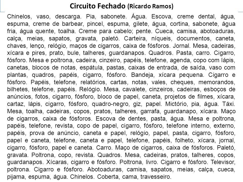 Circuito Fechado (Ricardo Ramos)