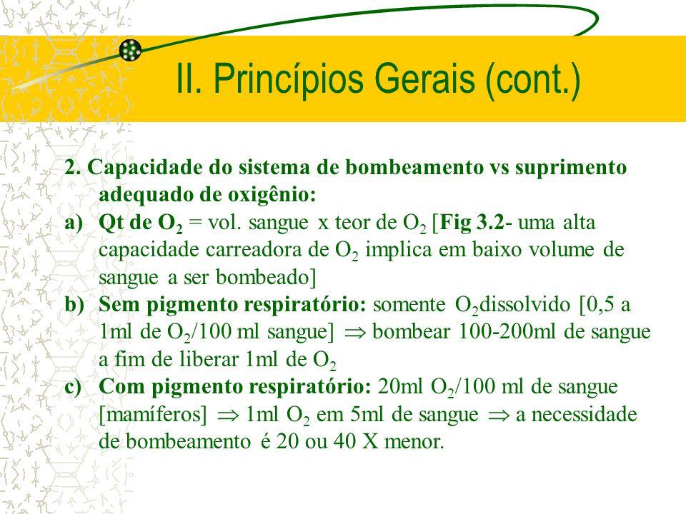 II. Princípios Gerais (cont.)