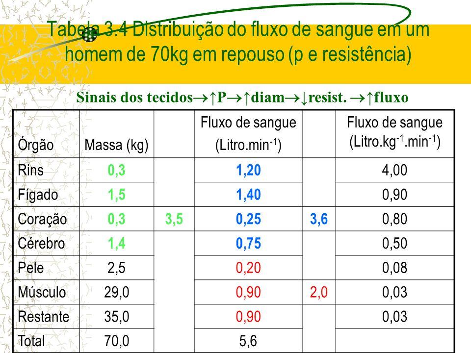 Fluxo de sangue (Litro.kg-1.min-1)