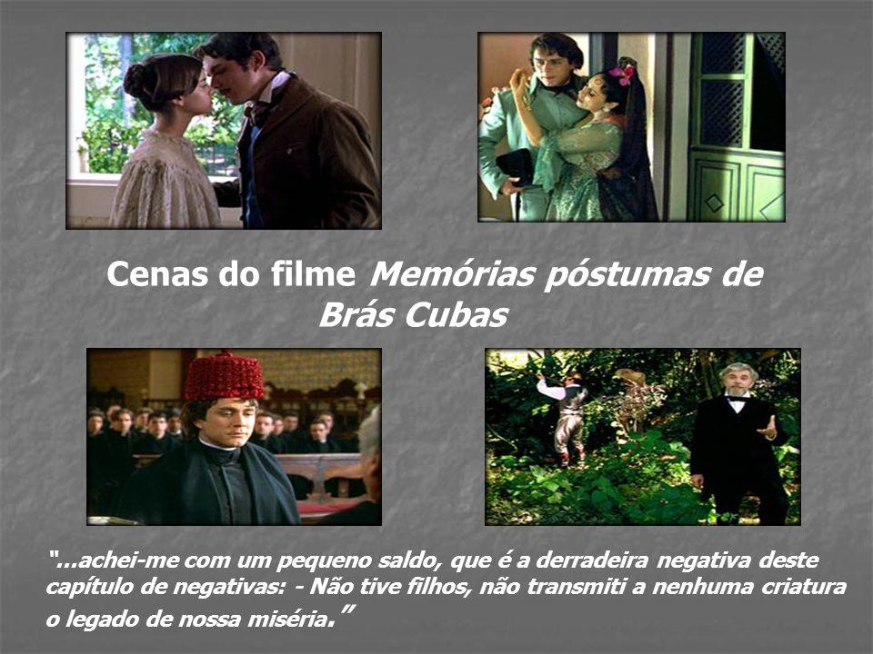Cenas do filme Memórias póstumas de Brás Cubas