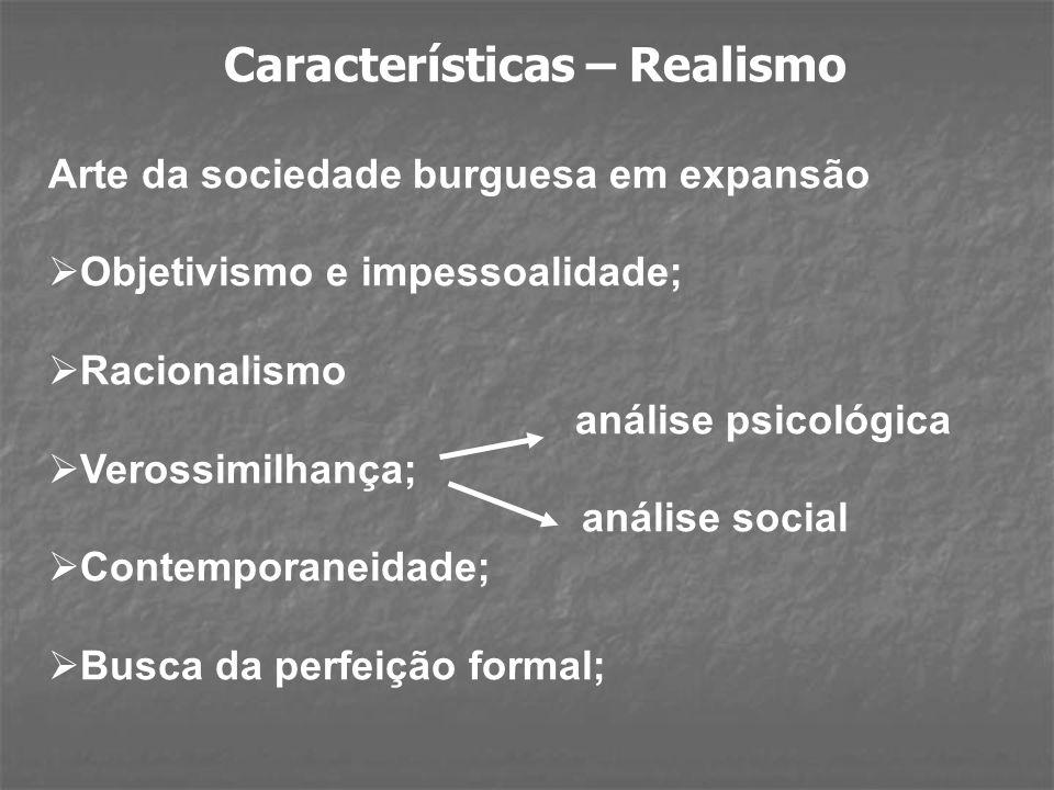 Características – Realismo