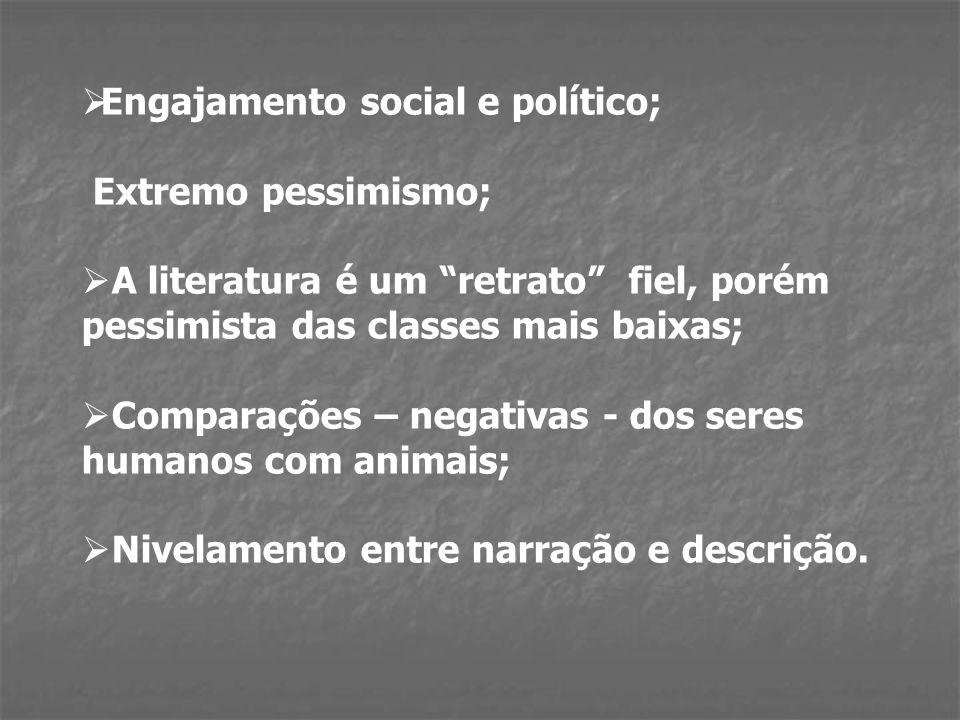 Engajamento social e político;