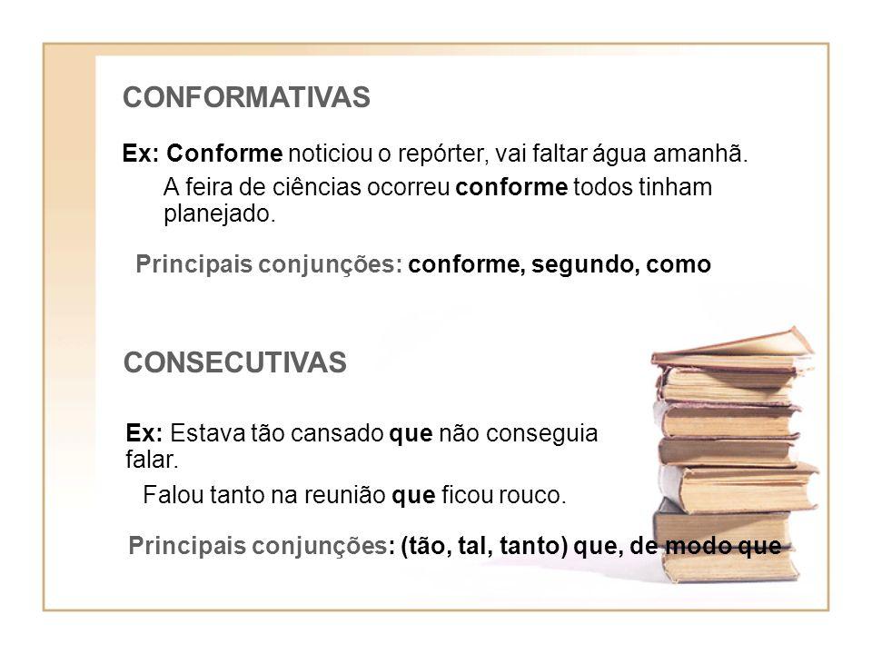 CONFORMATIVAS CONSECUTIVAS