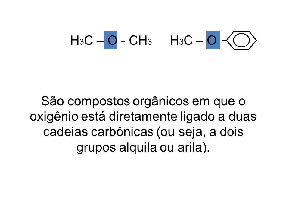 H3C – O - CH3 H3C – O
