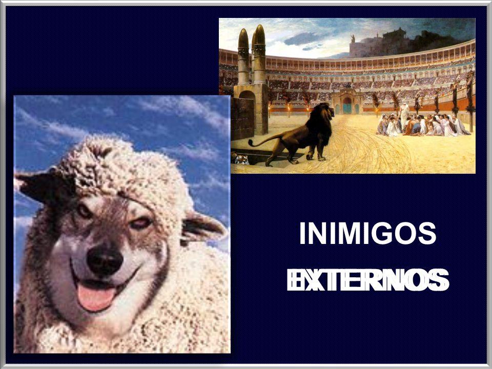 INIMIGOS INTERNOS EXTERNOS