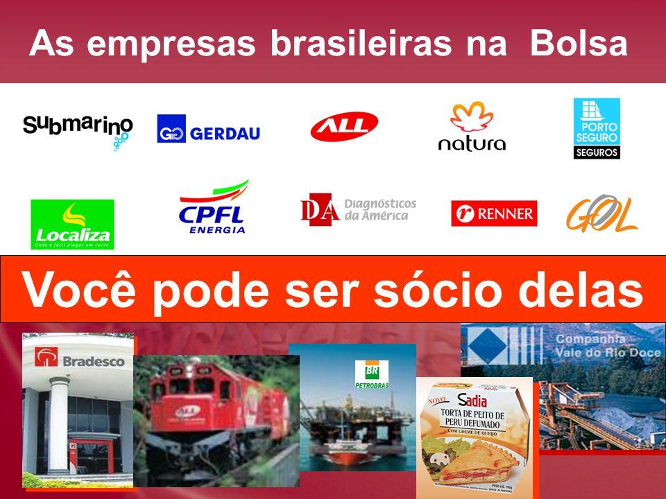 As empresas brasileiras na Bolsa