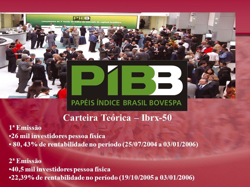 Carteira Teórica – Ibrx-50