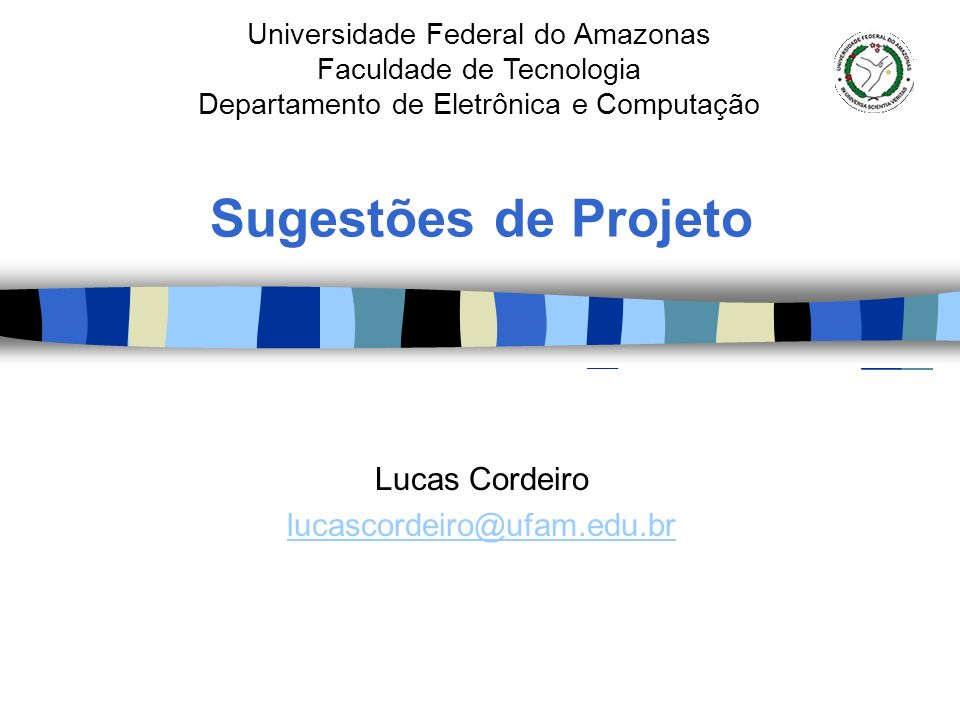 Lucas Cordeiro lucascordeiro@ufam.edu.br