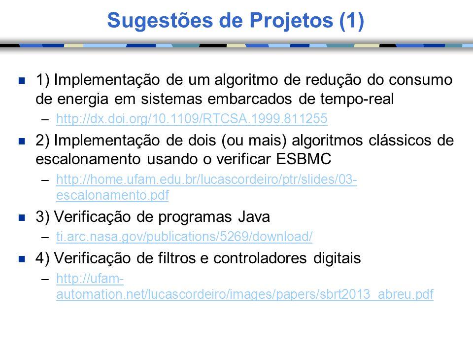 Sugestões de Projetos (1)