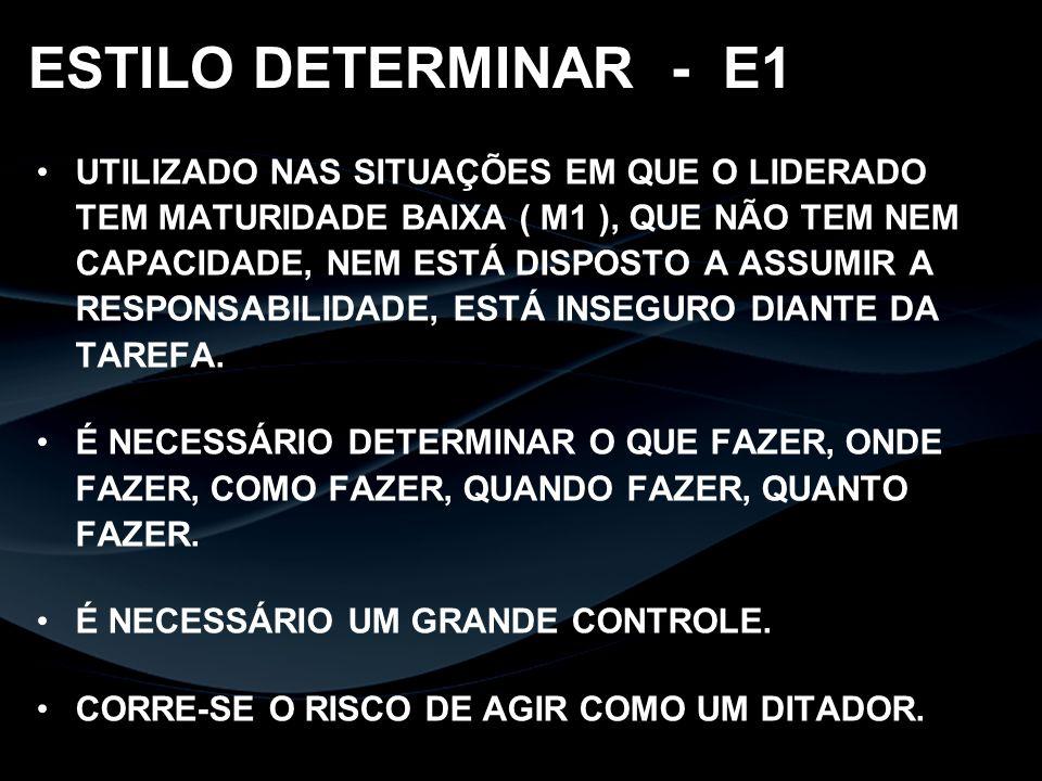 ESTILO DETERMINAR - E1