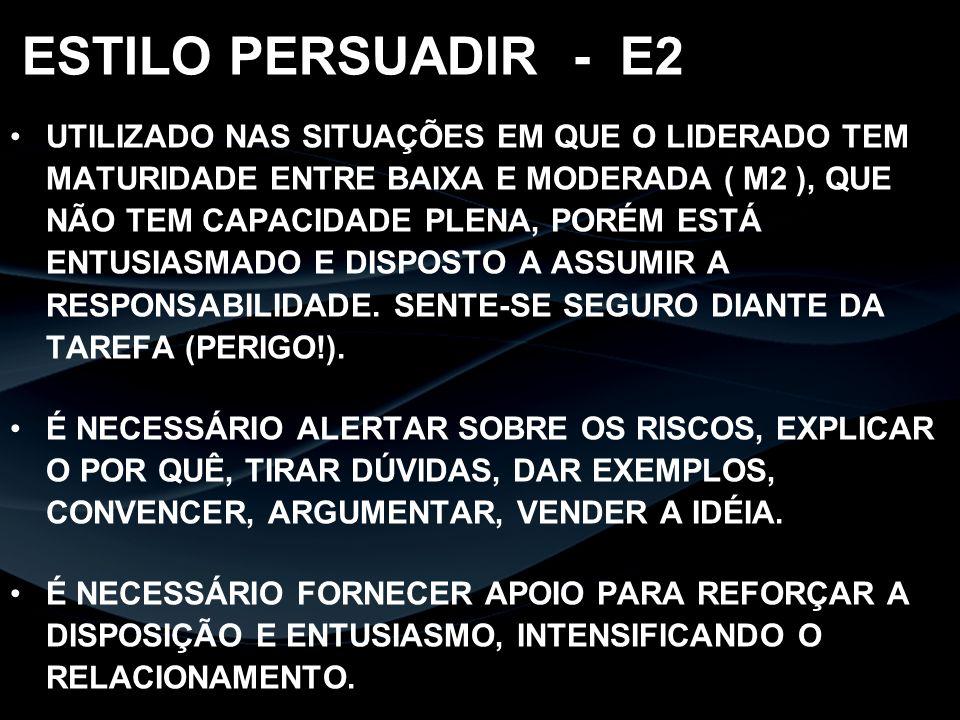 ESTILO PERSUADIR - E2