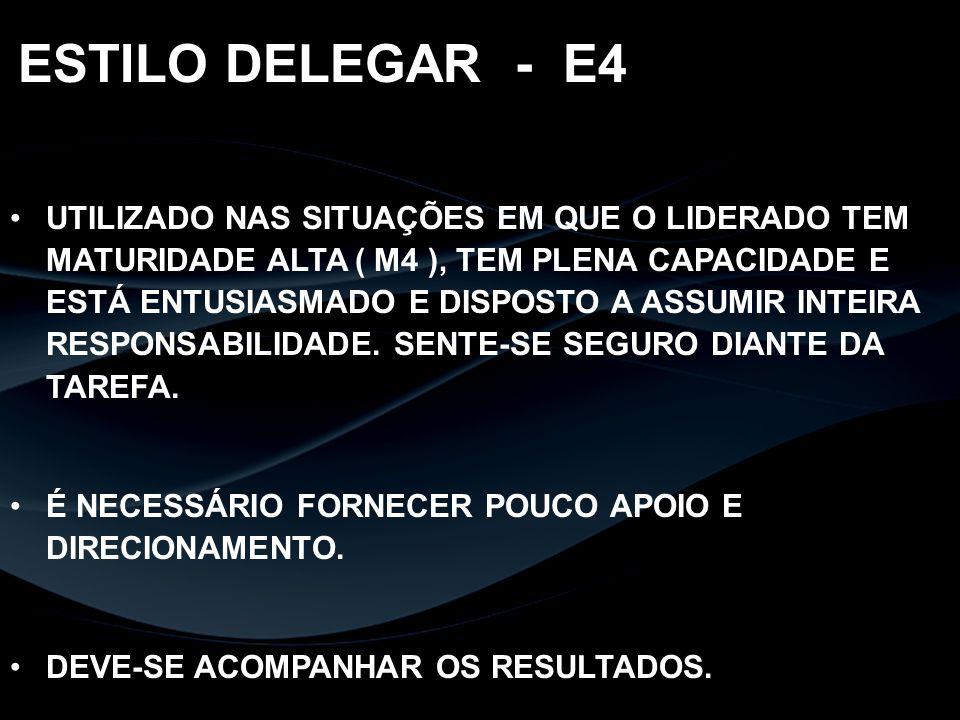 ESTILO DELEGAR - E4