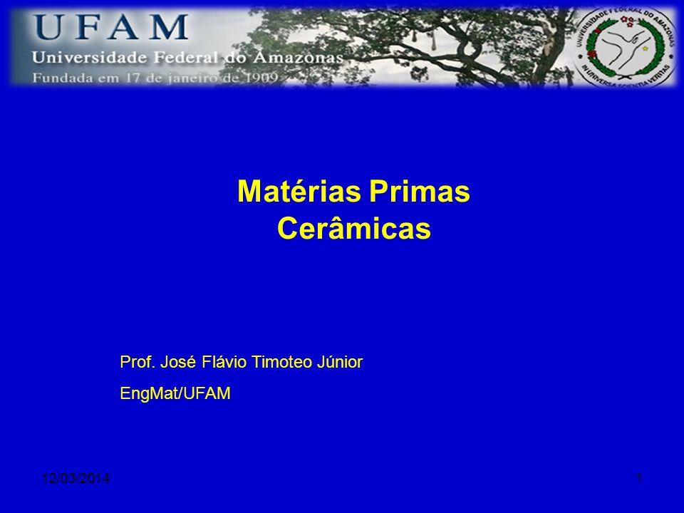 Matérias Primas Cerâmicas