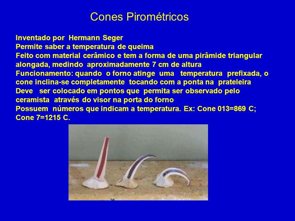 Cones Pirométricos Inventado por Hermann Seger