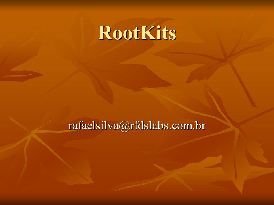 RootKits rafaelsilva@rfdslabs.com.br