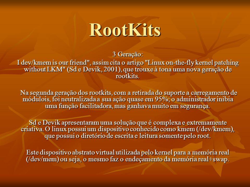 RootKits3 Geração: