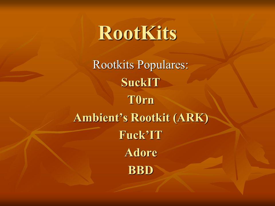 Ambient's Rootkit (ARK)