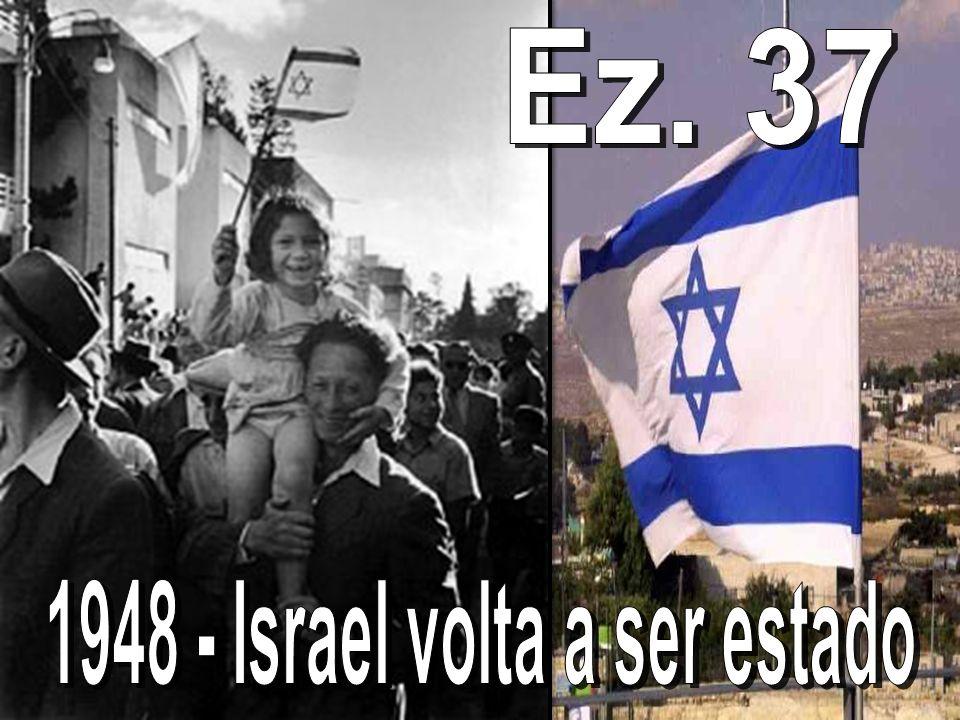 1948 - Israel volta a ser estado