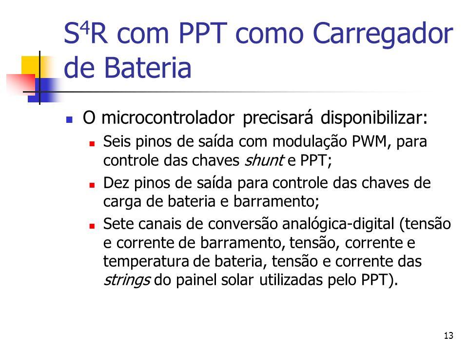 S4R com PPT como Carregador de Bateria