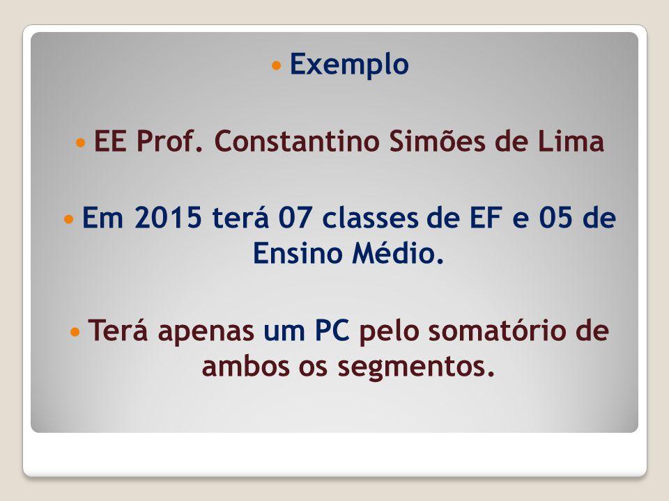 EE Prof. Constantino Simões de Lima