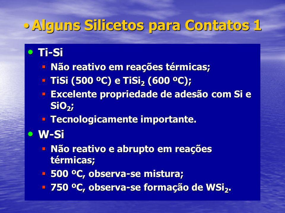 Alguns Silicetos para Contatos 1