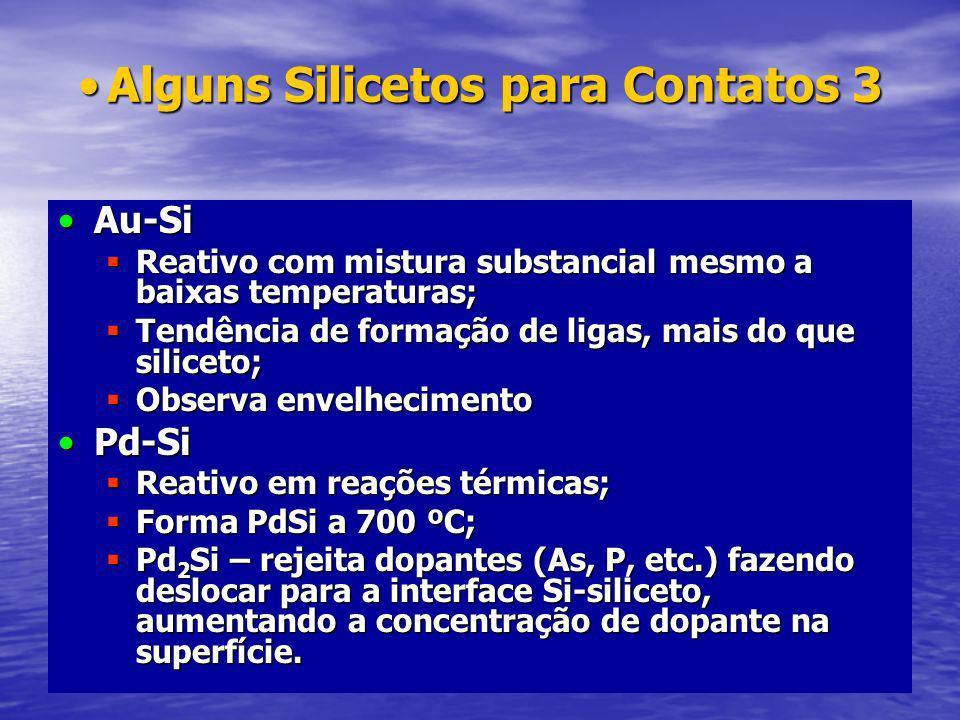 Alguns Silicetos para Contatos 3