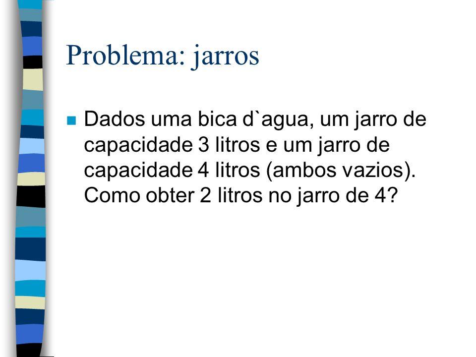 Problema: jarros