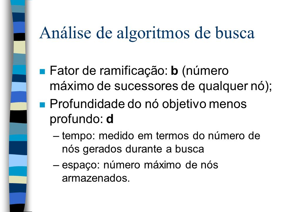 Análise de algoritmos de busca