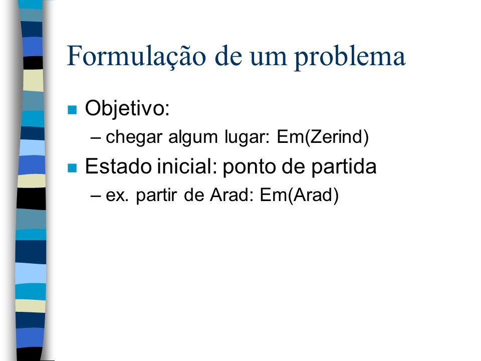 Formulação de um problema