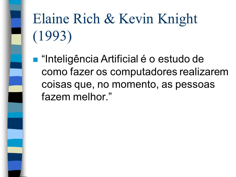 Elaine Rich & Kevin Knight (1993)