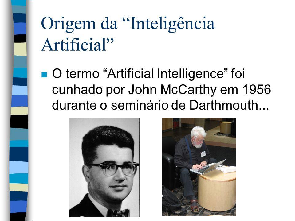 Origem da Inteligência Artificial