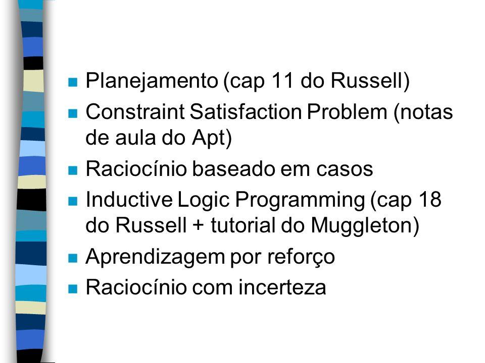 Planejamento (cap 11 do Russell)